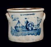 Old Stoneware Crock...