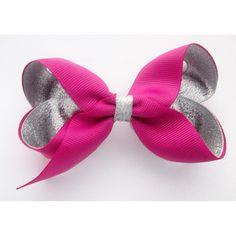 Loving this rasberry rose and silver combo! Just £1.50 online at www.mollysbowtique.co.uk