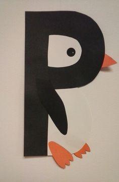 Preschool letter P  //  P is for Penguin
