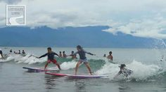 The capital surfing place BALER, philippines