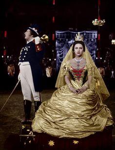 Lola Montes ( Martine Carol) de Max Ophuls, 1955.