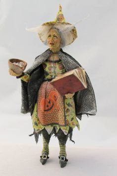 Witch in Green - Colvin Dolls - Gallery - The Greenleaf Miniature Community