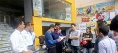Tim Labfor Polda Jatim  Menyelidiki Asal Mula Kebakaran Toko Buku Gramedia Tribratanews Polda Jatim