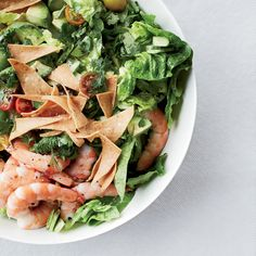 This recipe is loosely based on fattoush, a Middle Eastern salad in which toasted bread is moistened by other ingredients, like tomatoes and cucumbers.