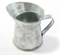 Package of 12 Mini Rustic Farm-inspired Galvanized Metal Mini Pitchers for Favors, Crafting, and Creating Unknown http://www.amazon.com/dp/B00TZ00E8O/ref=cm_sw_r_pi_dp_sS3evb1X5CFYW