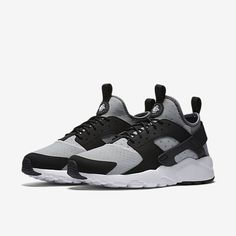 Homme Nike Air Huarache noir/gris/Orange