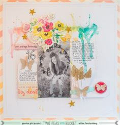 #papercraft #scrapbook #layout    In the mood to scrap: oh so lovely by Wilna