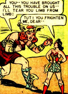 —Wonder Woman #26 (1947) by William Moulton Marston & H.G. Peter
