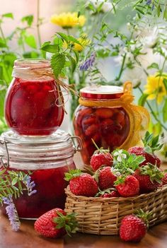 Recipe for Strawberry Preserves - Canning is not rocket science. But it is a science. There are principles of canning, and they need to be carefully followed.