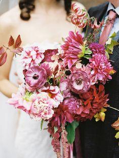 Fall floral wedding ideas