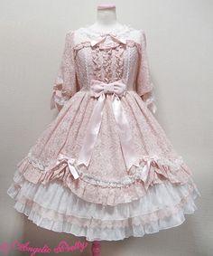 ♔Angelic Princess♔ Harajuku Fashion, Kawaii Fashion, Lolita Fashion, Cute Fashion, Style Lolita, Gothic Lolita, Kawaii Dress, Kawaii Clothes, Old Fashion Dresses