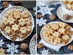 Ořechové cukroví - vykrajované