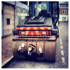 Banksy art #street art #graffiti