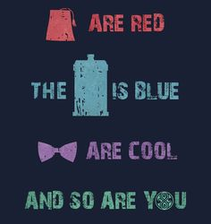 Doctor Who T-shirt idea. I want.