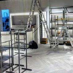 Empresa especializada en la instalación de equipamiento comercial y mobiliario corporativo Ladder, Shop Fittings, Tents, Stairway, Ladders