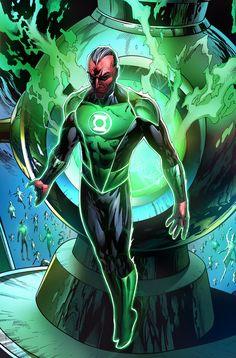 Sinestro by Mystic-Oracle Dc Comics Heroes, Arte Dc Comics, Dc Comics Characters, Green Lantern Green Arrow, Green Lantern Corps, Green Lanterns, Batman Returns, Comic Books Art, Comic Art