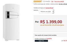 Refrigerador Consul Frost Free Bem Estar CRM55A com Horta em Casa e Interface Touch - 437L << R$ 139900 em 9 vezes >>