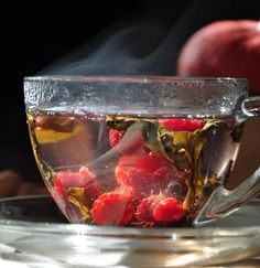 Keep yourself cozy with a cup of delightful hot tea! With flavors like rose milk and raspberry--you're sure to find a new favorite in these hot tea recipes! Grog, Hot Tea Recipes, Raspberry Tea, Fruit Tea, Fruit Cups, Flower Tea, Tips & Tricks, Tea Art, Loose Leaf Tea