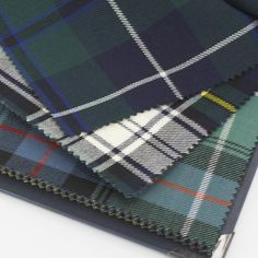 "16oz wool fabric swatch, 9.5""x8"", 2.50L, for framing the tartan"