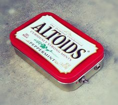 Portable Altoids Amp and Speaker for iPhone MP3 Player by ampoids #repurposed