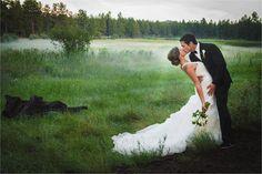 A Nursery Themed Wedding in the White Mountains of Arizona (image: @briemariephotog ).