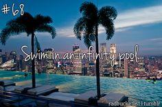 infinity pool #outdoors #bucket #list #activities #fun #dream #before #I #die