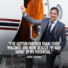 Grant Cardone, bestselling author, world's sales trainer, renowned speaker, international social media influencer and real estate mogul. your life! Grant Cardone Quotes, Ambition Quotes, Motivational Quotes For Success, Wise Quotes, Inspirational Quotes, Entrepreneur Inspiration, Social Media Influencer, Always Learning, Millionaire Lifestyle