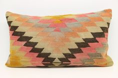 Home Design Lumbar Kilim Pillow Cover 16 x 28 Trendy Pillow Bohemian Pillow Throw Pillow Oblong Pillow Natural Dye Chevron Pillow by kilimwarehouse on Etsy Fall Pillows, Kilim Pillows, Throw Pillows, Sweatshirt Outfit, Handmade Pillow Covers, Bohemian Pillows, Chevron Pillow, House Design, Etsy