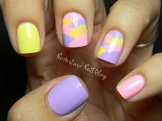 Re-create a braided #Easter basket in this impressive manicure that's actually easier than it looks.