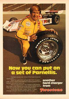1974 Firestone Parnelli Jones Tire Advertisement Motor Trend March 1974 | by SenseiAlan