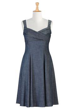 Vintage Clothing , Cute Dress Womens Full sleeve Dresses - Cocktail Dresses, Plus Size Cocktail Dresses, Elegant Dresses | eShakti.com