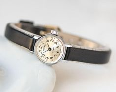 Very small woman's watch micro watch Sekonda feminine by SovietEra