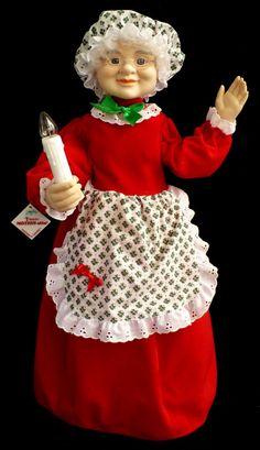 telco motionettes | ... Mrs Santa Claus with Original Telco Motionettes Hangtag and Box | eBay Christmas Themes, Christmas Crafts, Christmas Decorations, Xmas, Holiday Decor, Mrs Claus, Better Half, Fur Trim, Santa