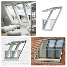 dakramen on pinterest balconies met and window. Black Bedroom Furniture Sets. Home Design Ideas