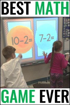Addition and Subtraction to 10 Math Game KNOCKOUT Grade Math Addition and Subtraction to 10 Math Game KNOCKOUT Grade Math Erin Waters Elementary Education erinmariewaters Miscellaneous nbsp hellip 1st Grade Math Games, Class Games, First Grade Activities, Phonics Activities, First Grade Math, Second Grade, Valentinstag Party, Subtraction Kindergarten, Kindergarten Math Games