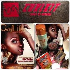 My first curl kit!! Happy to be a part of this community... Tried some of the products this week and am loving the results. Definitely anticipating my December box :) #curlkit #curls #naturalhair #natural #naturalhairsistas #products #boxopening
