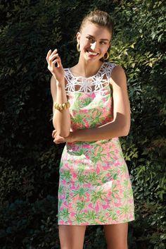 Andreea Diaconu para Lilly Pulitzer Primavera / Verão 2013