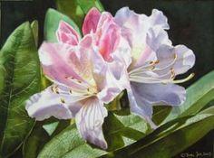 Watercolor Painting by Doris Joa