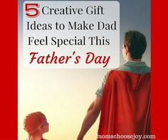Are you guilty of having given your husband a practical gift for Father's Day in the past? I've been guilty of doing this, too. Wouldn't you rather give him a gift that will make him feel special and loved? After all, Father's Day is all about dad, right? 5 Creative Gift Ideas to Make Dad […] Share this:Click to share on Twitter (Opens in new window)Click to share on Facebook (Opens in new window)Click to share on Pinterest (Opens in new window)Click to share on Google+ (Opens in new…