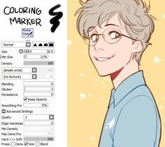 My brush settings for Paint Tool SAI by johannathemad                                                                                                                                                                                 Mais