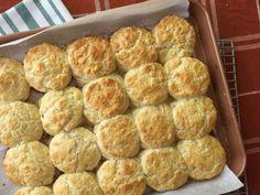 Homemade buttermilk biscuits
