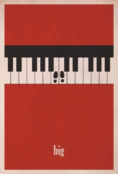 I love these minimalist movie posters