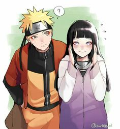 """L..let's be sage couple...Naruto-kun"" #Naruhina"