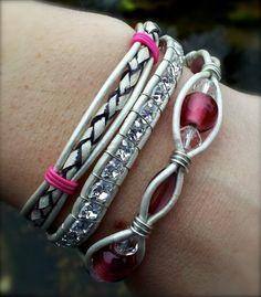 Dizzy Bess pink bracelet on facebook!