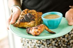 Jamaican Jerk Chicken from Smokey Joe's at Negril Beach - Relish.com