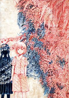 Artwork by Soga Kayoko.  --- http://tsukihoshihi.tobiiro.jp/index.html