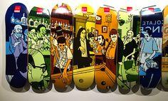Chocolate Skateboards Team Decks Pool Table #evanhecox