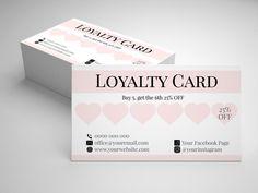 Beauty Business Cards, Salon Business Cards, Loyalty Card Design, Loyalty Cards, Nail Salon Design, Lash Room, Standard Business Card Size, Flyer, Branding