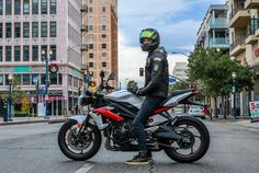 See what FZ-09-loving Sean and sportbike guy Bucky thought after spending some time on the fan favorite Triumph Street Triple R.