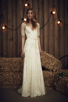 The Faith Gown in Ivory | The Jenny Packham 2017 Bridal Collection | see them all on www.onefabday.com